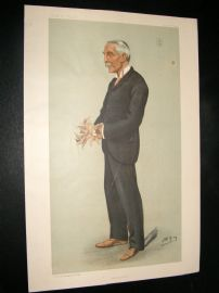 Vanity Fair Print 1899 James Lawrence, Doctor